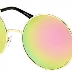 pink and yellow sunglasses